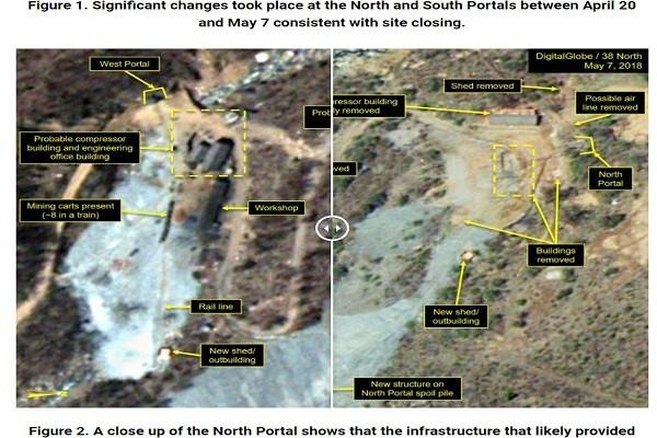 約5國觀摩朝核「爆破秀」 朝鮮賣力建造觀景台