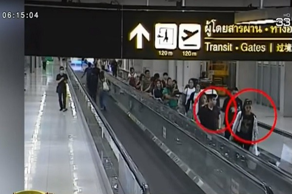 华妇曼谷遭绑架 监控画面曝光 4中国人涉案