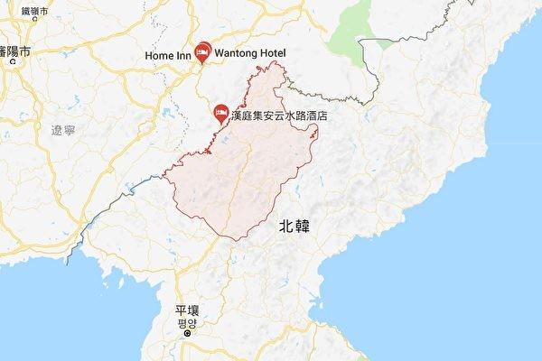 關豐溪里核試場 傳朝慈江道為軍事特區 疑偷藏核武