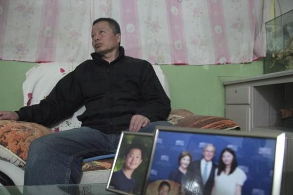 默克爾訪華 高智晟女兒請求幫助尋找其父