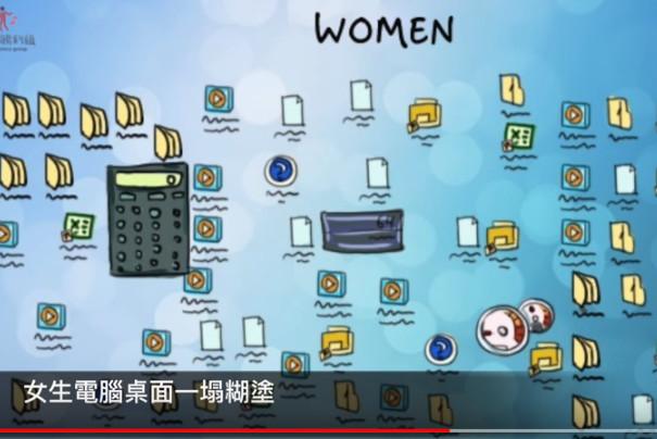 14张超中肯的对比图 男人VS女人果然大不同(视频)