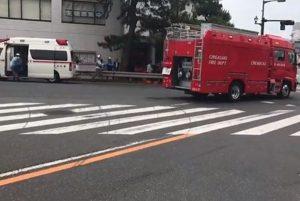 日90岁老妇疑闯红灯 撞行人酿1死5伤