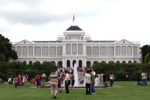 """韩媒:""""川金会""""可能选在新加坡总统府举行"""