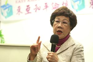 台灣前副總統呂秀蓮宣布退出民進黨