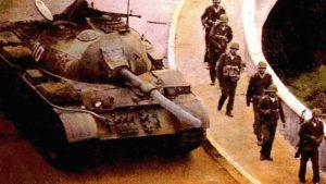歐美5國「六四」時監察共軍:軍事無能