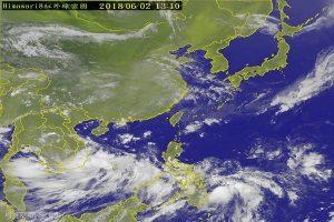 「艾維尼」颱風將生成 5日可望紓緩南台灣旱象