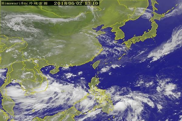"""""""艾维尼""""台风将生成 5日可望纾缓南台湾旱象"""