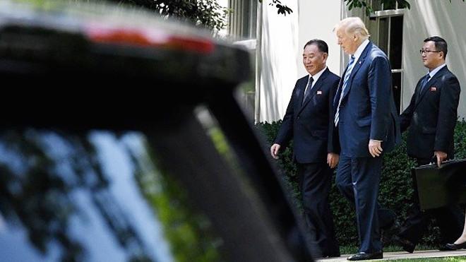 川金会期间暂停新制裁 川普:将宣布重磅消息