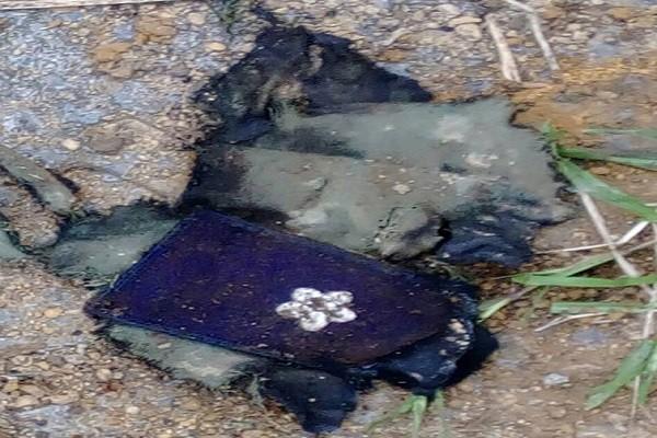 台F16戰機墜毀 找到飛官制服肩章 但未見人影