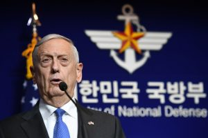 """美防长再发警告:南海军事化将有""""重大后果"""""""