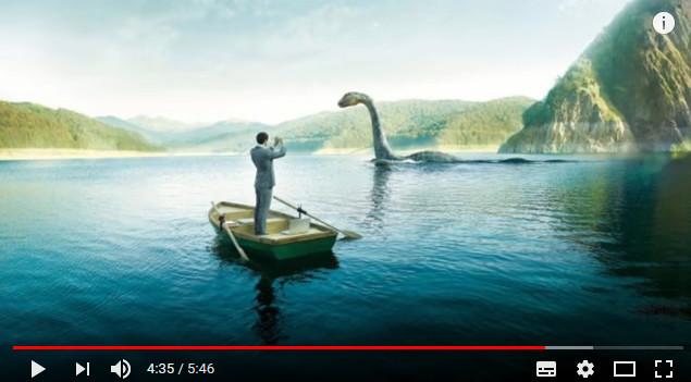 """""""尼斯湖水怪""""又现身了? 他拍下了长达10分钟的记录影片…"""