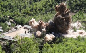 美情報網站:朝核試場僅爆破入口 坑道仍可修復使用