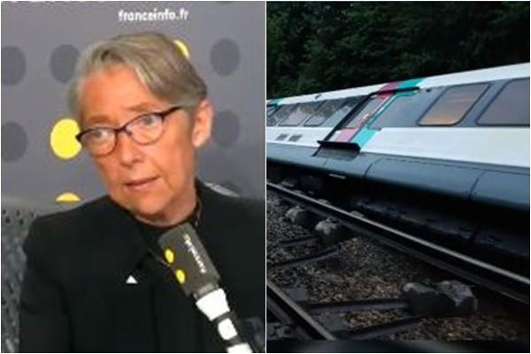 法郊区火车遇山崩 3节车厢翻覆7人受伤