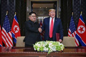 川普釋放善意  宣布停止美韓聯合軍演