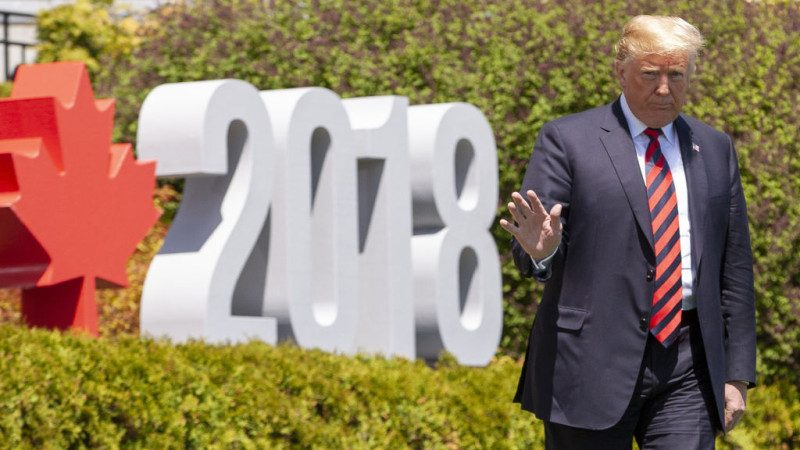 川普談與G7首腦關係:並非磐石 不過很棒