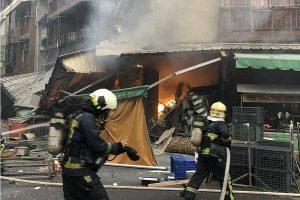 台中炸物店瓦斯氣爆 當場炸傷3員工