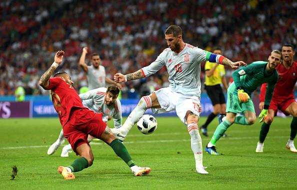 世界杯第三场葡萄牙3比3战平西班牙