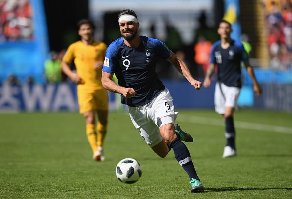 世界盃C組賽 法國2比1險勝澳大利亞