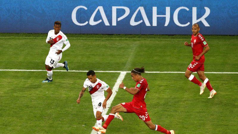 世界杯C组:丹麦刁钻破网 1比0险胜秘鲁(视频)