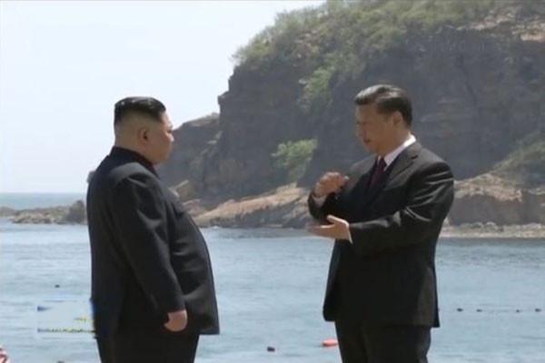 日媒:习近平让金正恩要求停止军演 促朝先放人质