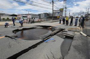 大阪强震瓦斯停供医护忙乱 学者吁未来一周注意强震