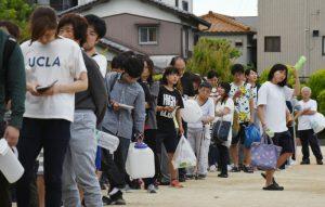 大阪余震不断民众难眠 超市被抢购一空