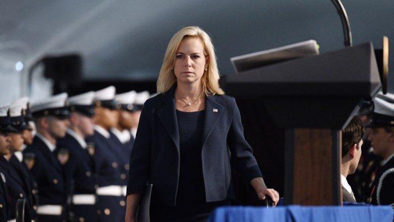 美國土安全部長力挺川普移民政策 炮轟無良媒體