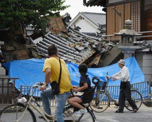 日本大阪6级强震 专家担心是大地震前兆