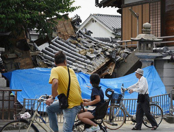 日本大阪6級強震 專家擔心是大地震前兆