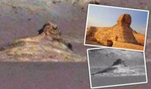 火星發現酷似「人面獅身像」這是外星文明證據嗎?(視頻)