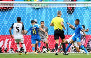 一路战到伤停补时  巴西2比0苦胜哥斯大黎加(视频)