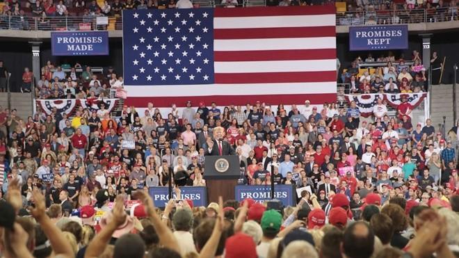 创10年最高纪录 过半美国人支持川普经济政策