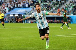 D组末轮:阿根廷险胜尼日利亚 晋级16强