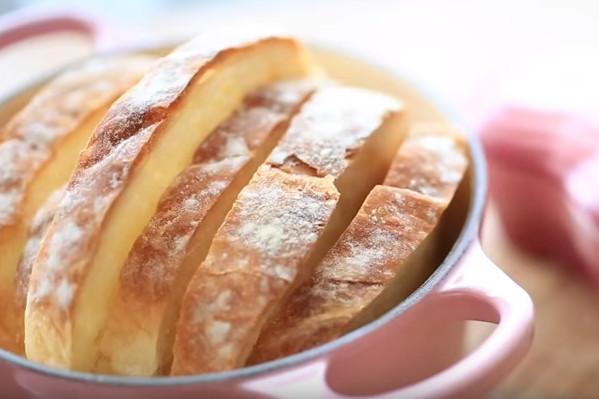 歐式免揉麵包 零失敗家庭做法(視頻)