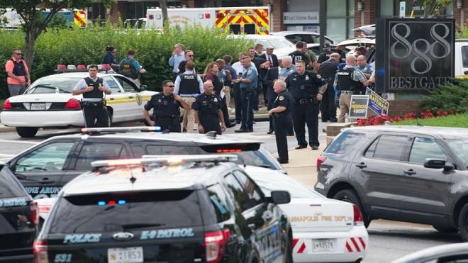 美馬里蘭州報社爆槍擊案 至少5死數人重傷