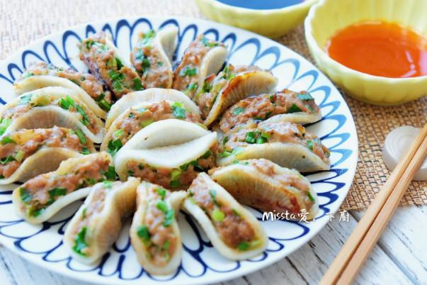 萝卜韭菜饺子 免饺子皮做法(视频)