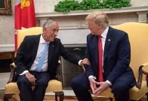 葡總統對C羅贊不絕口 川普一句問話讓他「卡殼」