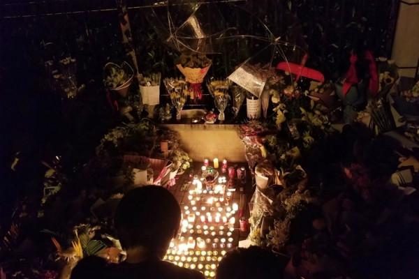 悼念被砍學童也維穩  上海市民鮮花被沒收