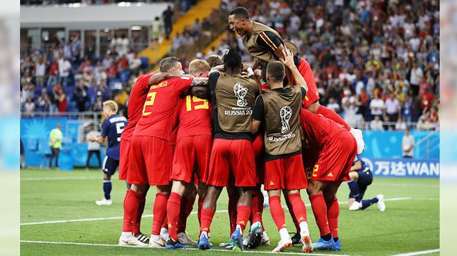 比利时读秒绝杀  3:2击败日本队晋级8强