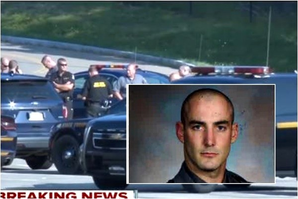 枪杀纽约州警察 美布拉福德校长举枪自尽
