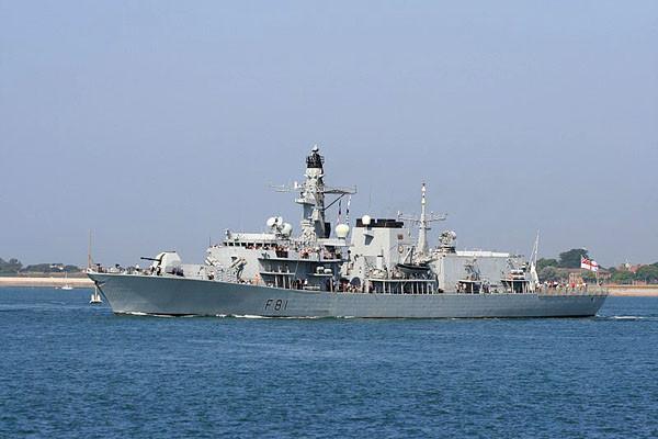 英国军舰巡航南海 党媒:只是路过