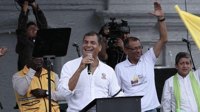 疑涉绑架对手 厄瓜多法院下令逮捕前总统