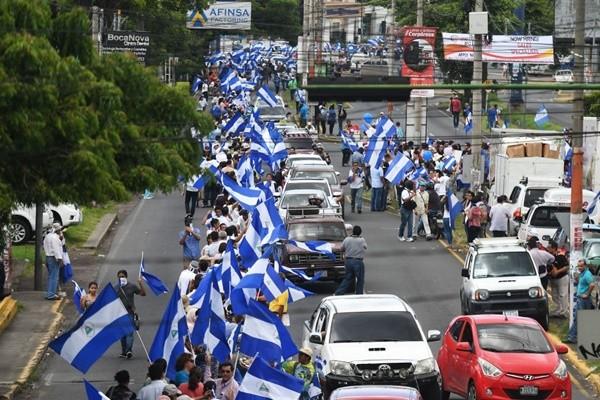 盼结束数月暴力动乱 尼加拉瓜抗议民众吁总统下台