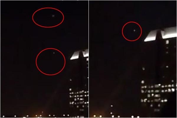 UFO?美國獨立日 不明飛行物急速掠過