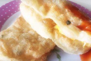 炸蛋蔥油餅 美味簡單做(視頻)