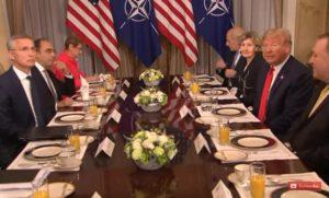 川普敦促北约盟国尽义务 拿出2%GDP作防卫开支
