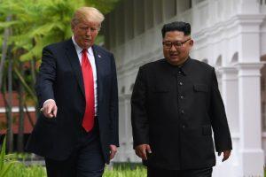 川普晒金正恩来信 朝鲜再度变回红脸