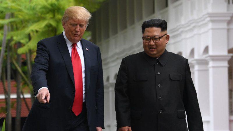 川普曬金正恩來信 朝鮮再度變回紅臉