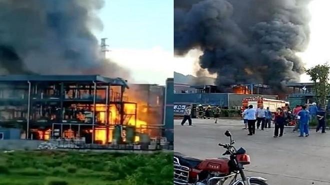 四川科技厂爆炸 至少31死伤