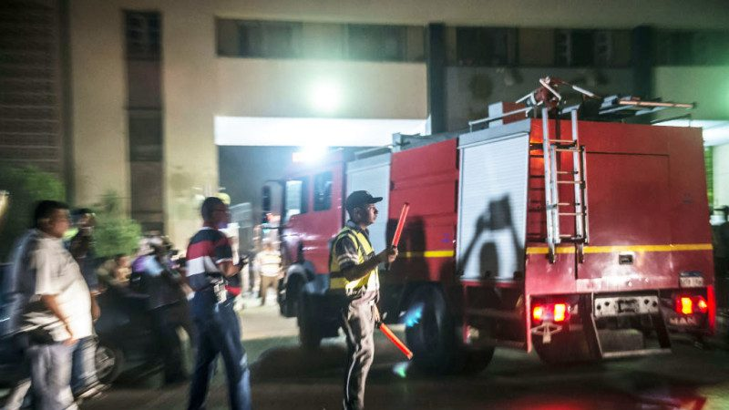 開羅機場外化學工廠爆炸 火光照亮天空釀12人受傷